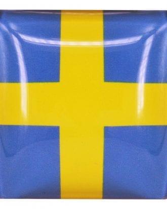 Magnet Flagga Sverige/Norge - Sverige 1-pack