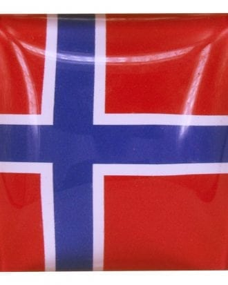 Magnet Flagga Sverige/Norge - Norge 1-pack
