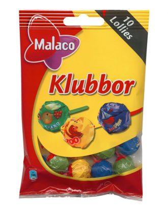 Malaco Klubbor Blandade