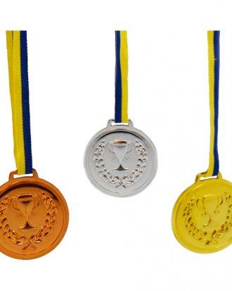 Medaljer Guld/Silver/Brons - 3-pack