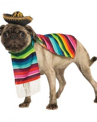 Mexiko Hund Maskeraddräkt - X-Large