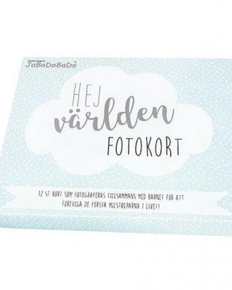 Milestone Fotokort Blå - 32-pack