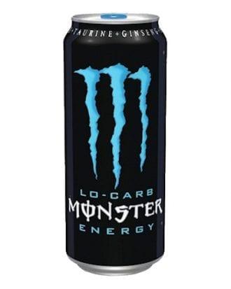 Monster Energy Absolutely Zero - 24-pack (Hel platta)