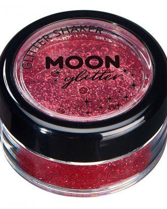 Moon Creations Fine Glitter Shaker - Röd