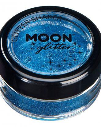 Moon Creations Fine Glitter Shaker - Blå