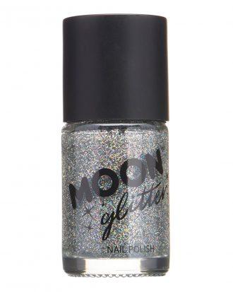 Moon Creations Glitter Nagellack - Silver