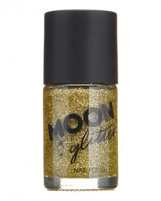 Moon Creations Glitter Nagellack - Guld
