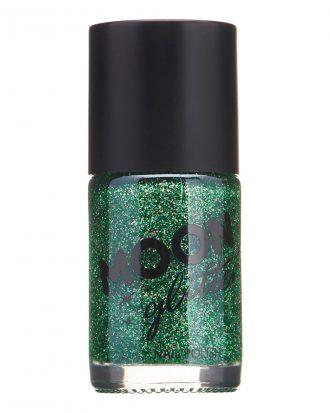 Moon Creations Glitter Nagellack - Grön