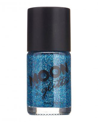Moon Creations Glitter Nagellack - Blå