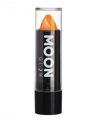 Moon Creations UV Neon Glitter Läppstift - Orange