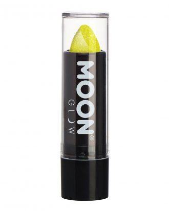 Moon Creations UV Neon Glitter Läppstift - Gul