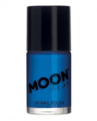 Moon Creations UV Neon Nagellack - Blå