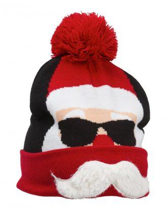 Julmössa Tomte med Mustasch - One size