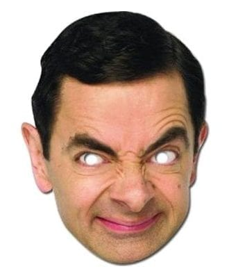 Mr Bean Pappmask - One size