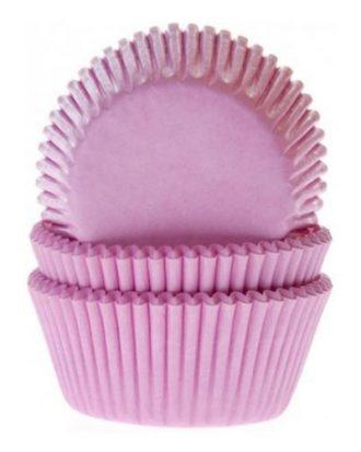 Muffinsformar Ljusrosa - 50-pack