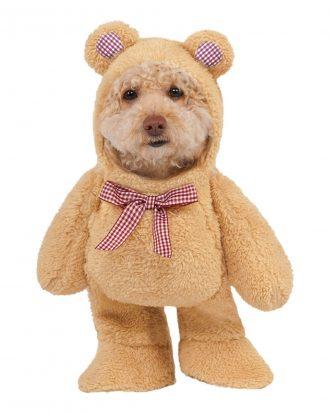 Nallebjörn Hund Maskeraddräkt - X-Large