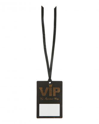 Namnskylt VIP på Band - 10-pack