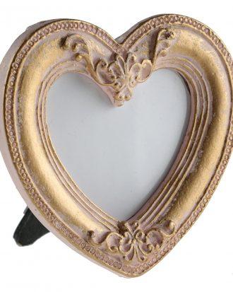 Namnskyltar Hjärta Guld - 1-pack