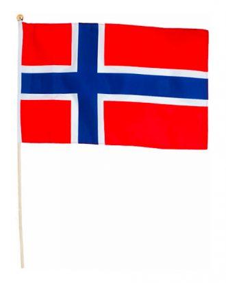 Norge Flagga på Pinne