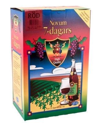 Novum Rödvin 7-dagars