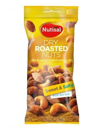 Nutisal Torrostade Nötter - 60 g