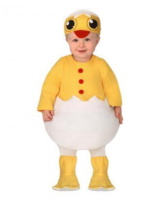 Nykläckt Kyckling Bebis Maskeraddräkt - 12-24 månader