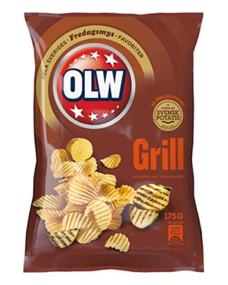OLW Grill Chips - 175 gram