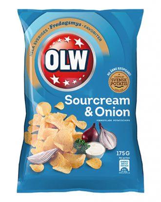 OLW Sourcream & Onion Chips