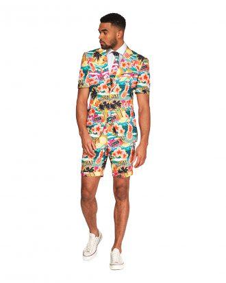 OppoSuits Aloha Hero Shorts Kostym - 62