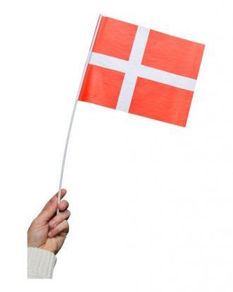Pappersflagga Danmark - 1-pack