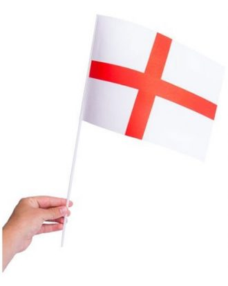 Pappersflagga England - 1-pack