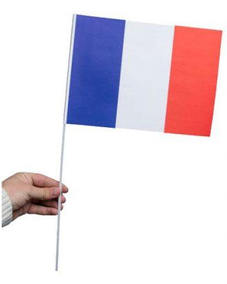 Pappersflagga Frankrike - 1-pack
