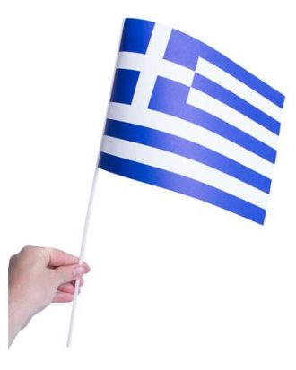 Pappersflagga Grekland - 1-pack