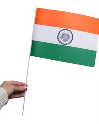 Pappersflagga Indien - 1-pack