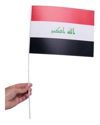 Pappersflagga Irak - 1-pack