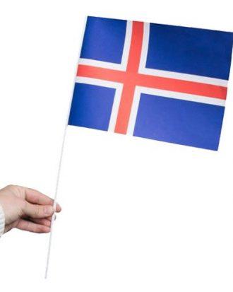 Pappersflagga Island - 1-pack