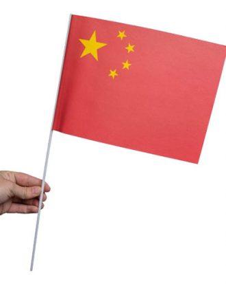 Pappersflagga Kina - 1-pack