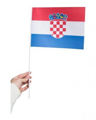 Pappersflagga Kroatien - 1-pack