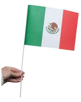 Pappersflagga Mexiko - 1-pack