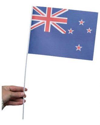 Pappersflagga Nya Zeeland - 1-pack