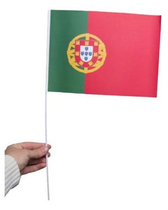 Pappersflagga Portugal - 1-pack