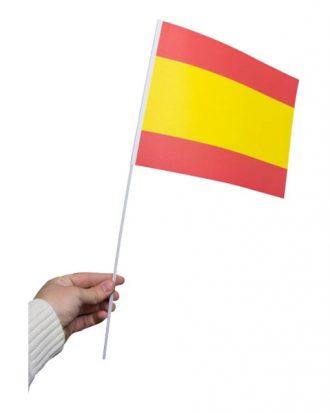 Pappersflagga Spanien - 1-pack