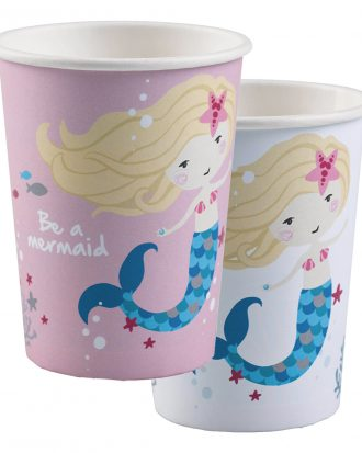Pappersmuggar Be a Mermaid - 8-pack