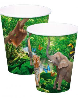 Pappersmuggar Safari Party - 8-pack