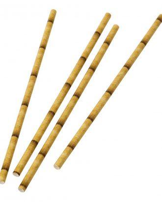 Papperssugrör Bambu - 20-pack