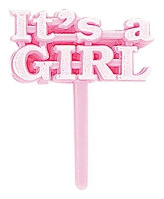 Partypicks It's a Girl - 8-pack