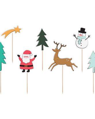 Partypicks Merry Xmas - 7-pack