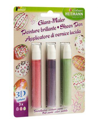 Pennor för Äggmålning - 3-pack