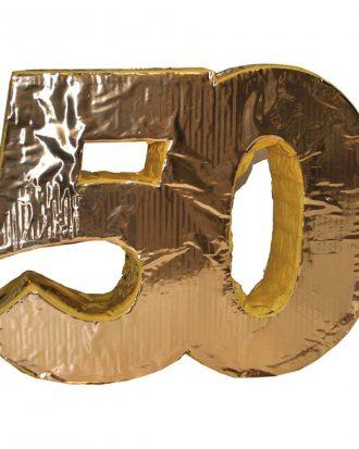 Pinata 50-års Jubileum Guld