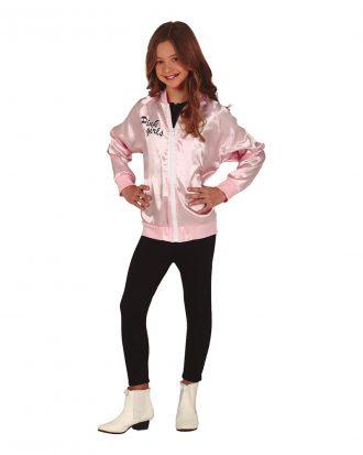 Pink Girls Jacka för Barn - Large